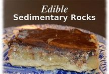 Edible Homeschool / Crafty snacks; hands-on projects that are made from food and which TEACH