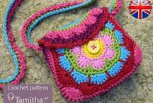Crochet Bags / Crochet bags, crochet pouches, crochet purses, crochet clutches / by Sara Rivka Dahan