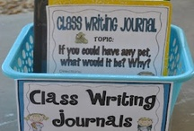 Primary Writing Ideas / This board is a collection of creative ideas to teach writing in the primary grades. Look for solutions for organizing student writing and writing centers, as well as teaching all steps of the writing process.  I love whole class writing journals, too!