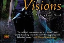 Cover Blurbs / We're famous...sort of. Our reviews have been quoted on these book covers / by All Things Urban Fantasy