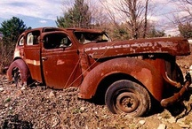 Abandoned Vehicles / by Bobby Shepard