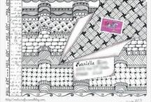 Zentangle / My tangles are here >>> https://fr.pinterest.com/melucrafts/my-art/ <<<