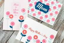 free mother's day printables / Fun and free printables to make your Mother's Day celebration great