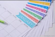 2014 free printables / Free printable 2014 calendars, including annual, monthly and weekly calendars. All totally free to download and print.