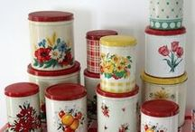 Retro Kitchen Canisters / by Amy Webb