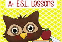 ESL, ELL, ESOL, ELD, TESOL / The Teaching English to Second Language Learners Toolbox