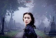 Dracula in Love / DRACULA IN LOVE, the novel, is a retelling of the vampire's tale from the perspective of Dracula's muse, Mina Harker.  In it, we discover that there is more to Mina than previously revealed.