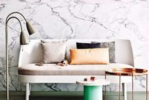 Marble tastic / marble, interior, decoration, marmer interior , interieur / by Goed in Stijl