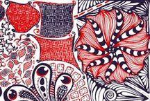 My Stuff / Drawings. Illustrations. Zentangle.