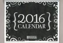 2016 free printables / Free printables dated for 2016. Get more free printables here: https://www.pinterest.com/hre/. #freeprintables #2016 #planners #calendars