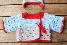 Crochet For Babies / Crochet sweaters for babies,crochet accessories for babies