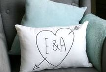 Wedding Gifts for the Happy Couple / A selection of modern wedding gifts for the happy couple.