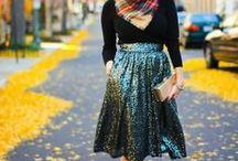 Women's Fashion Inspiration / by Tori Thompson
