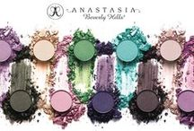 EYE SHADOW SINGLES / This finely-milled, highly-pigmented powder eye shadow is available in eighty-four hues and eight finishes for maximum versatility. Create a custom palette with kits that holds four to eight pans of your favorite colors and textures.  / by Anastasia Beverly Hills