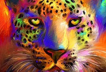 Leopard Lovers / For the Leopard Lover ~ this leopard board ROCKS!.