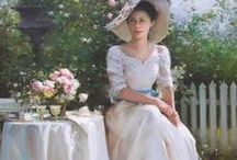 an afternoon tea party / by Ginger Bellant