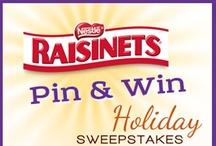 Raisinets Holiday Pin & Win Sweepstakes