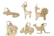 Mini Charm Collection / Do you love charms? We've got tons! Check out our unique Mini Collection. Animals, Stars, Moon, Hearts, Musical Notes, Hippos, Giraffe's, Dragonfly in 10k gold or Sterling Silver. SEe the full collection online.