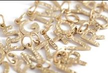 Letters / Personalize your Necklace with our Gold or Sterling Silver - Initials, Letters, Charm Jewelry