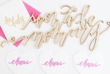 Baby / by Laura Hooper Calligraphy