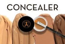 CONCEALER / This full-coverage concealer instantly camouflages dark under-eye circles, hyperpigmentation, and blemishes. The hydrating cream formula glides over skin without caking or settling for results that are smooth, natural, and flawless.
