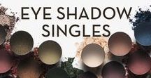 EYE SHADOW SINGLES / These finely-milled, highly-pigmented powder eye shadow is available in eighty-four hues and eight finishes for maximum versatility. Create a custom palette with kits that holds four to eight pans of your favorite colors and textures.