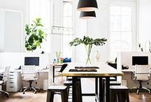 Spaces we LOVE / Inspiration for our Old Town Workshop/Office Space