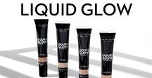 LIQUID GLOW / A weightless liquid highlighter that offers an intense glow with lustre finishes.