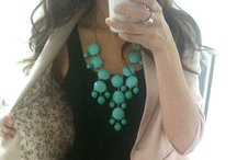 Lovin' these necklaces...