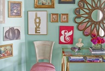 Vignettes / It's all in the styling. Frames, groupings, mirrors, vignettes, details. / by Sara Berrenson