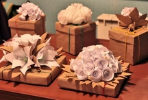 """DIY Flowers and other paper things / This is a board full of flowers and items that I can use as bows or package toppers for gift wrapping.  What a great way to show your creativity. And my husband would say """"and waste time"""" / by ::::::Beth Sumerlin O'Briant::::::"""