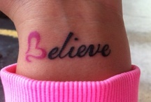 <3 Tattoos <3 / by Shannon Gladden-Lovett