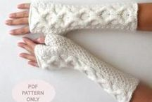 HAND knitting  / techniques, techniques stitches  fingerless mitts gauntlets mittons  knitting instructions for thumbs / by marie landry