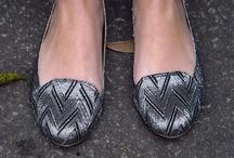 CollegeFashionista: Geometric Shoes