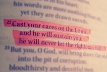 Words that Sustain Me....(Bible) / by Shannon Gladden-Lovett