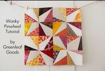 Quilty Tutorials / by Elizabeth Dackson