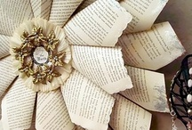 Paper Crafts <3 / Crafts & Ideas made with old books, patterns, maps, sheet music...even toilet paper rolls. / by Laura Siegel