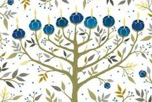 Holidays - Hanukkah / Hanukkah greeting cards and gift wrap to celebrate the holidays / by Sara Berrenson