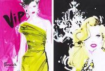 Fashion Illustration / fashion illustration, fashion, art, watercolor, gouache / by Sara Berrenson