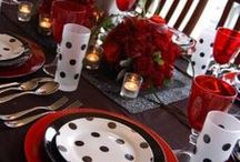 Table Settings! / OMG! Love these table settings. / by Shannon L. Buck - Author