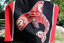 Pacific NW Indian Button Blankets