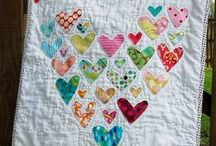 Quilts - Hearts