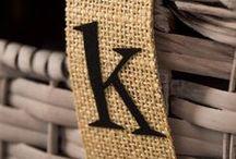The Letter K / by Kelly Mahany