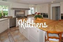 Kitchens / As the center of the home for hosts, these kitchens are the ideal place to spend time with friends and family.