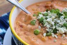 Savory Soups / Tasty soup recipes! Best Soup Recipes, Winter Soup Recipes, Soup Ideas, Bean Soup Recipes, Healthy Soup Recipes, Gluten Free Soup Recipes