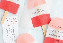Parties / I love planning a celebration of the people I love - themes, colour, design and glitter make it special. There is joy in celebrating the big and small moments.  / by Lynette Cowen