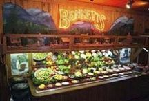 Smoky Mountain Area Restaurants / by My Bearfoot Cabins Pat Kirchhoefer