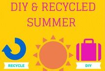 recycled und diy summer projects
