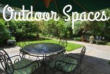 Outdoor Spaces / This board is where you can see beautiful outdoor spaces, from gardens and lounge areas.