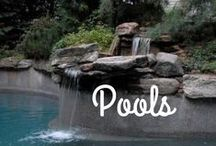 Luxurious Swimming Pools / These pools are an extra special luxury feature in a home.